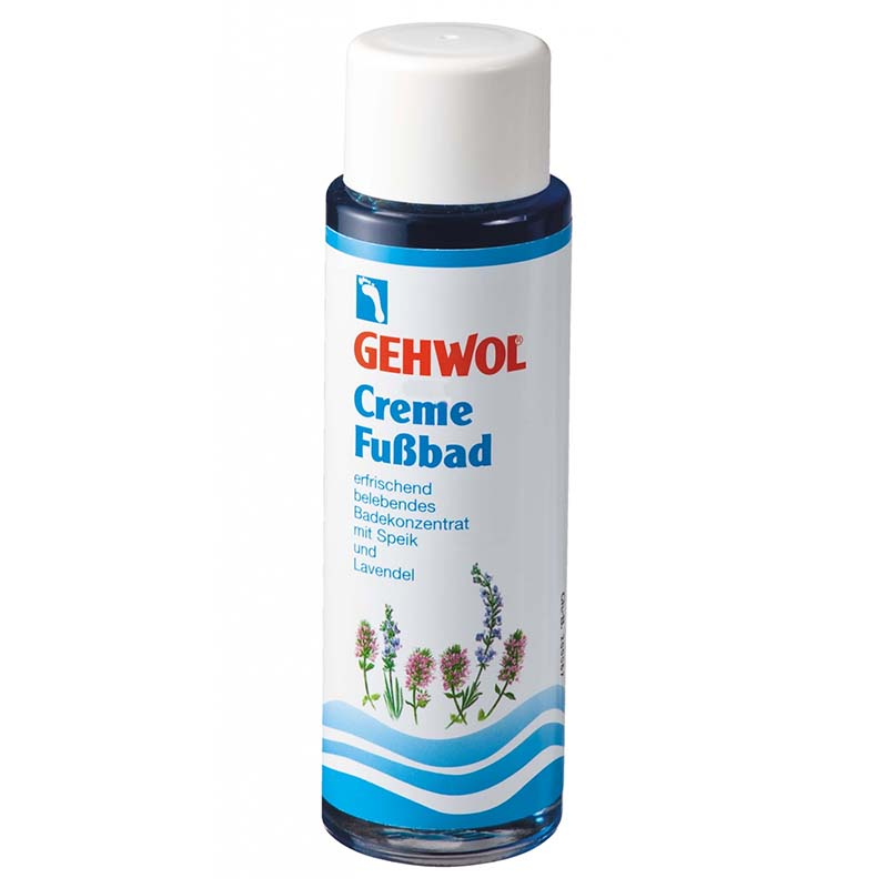 Gehwol Foot Bath Cream Με βαλεριάνα και λεβάντα, 150ml Mavrommatihealth Overespa