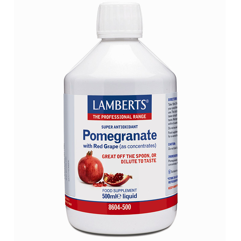 Lamberts Pomegranate Concentrate Συμπληρώματα, 500ml Mavrommatihealth Overespa