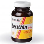 Health aid super lecithin 1200mg 50caps - mavrommatihealth overespa