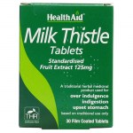 Health aid Milk Thistle Seed Extract 30 tablets Φυτοθεραπεία με ταμπλέτες που προστατεύουν το ήπαρ Mavrommatihealth Overespa