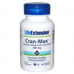 Life extension cran-max cranberry extract 500mg 60 -mavrommatihealth overespa