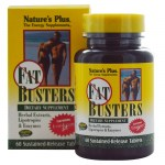 Nature`s plus fat busters tablets 60 -mavrommatihealth overespa