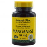 Nature`s plus manganese 50 mg tablets 90 -mavrommatihealth overespa