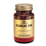 Solgar Garlic Oil Φυτοθεραπεία, Softgels 100s Mavrommatihealth Overespa