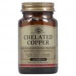 Solgar chelated copper 2,5mg tabs 100s -mavrommatihealth overespa