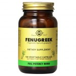 Solgar fenugreek 520mg vegicaps 100s -mavrommatihealth overespa