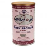 Solgar whey to go protein strawberry powder 454gr -mavrommatihealth overespa