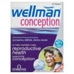 Vitabiotics wellman conception 30tabs -mavrommatihealth overespa