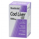health aid cod liver oil 1000mg 30caps Συμπληρώματα διατροφής κατά της αρθρίτιδας - mavrommatihealth overespa